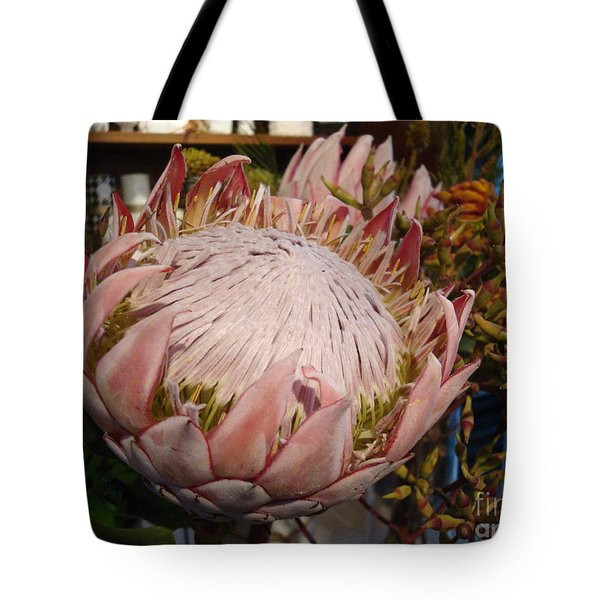 Burst Of Pink  Tote Bag by Cathy Dee Janes