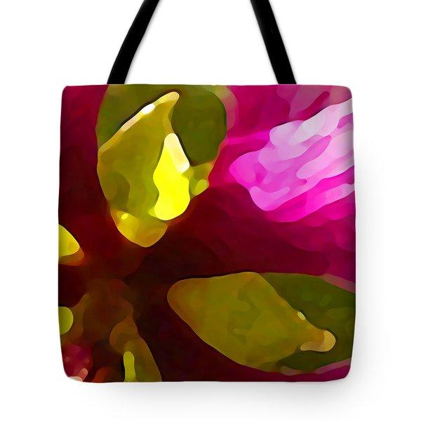Burst Of Spring Tote Bag by Amy Vangsgard