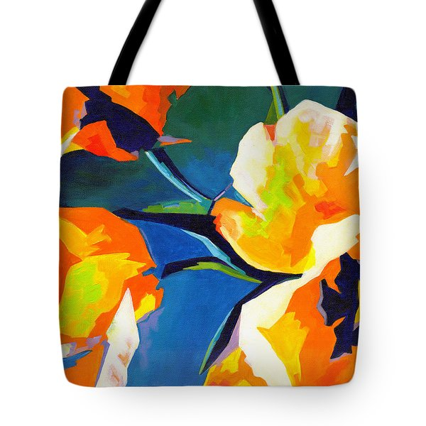 Bursting Colors  Tote Bag