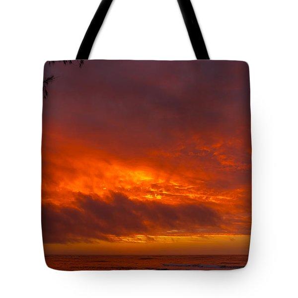 Bursting Sky Tote Bag