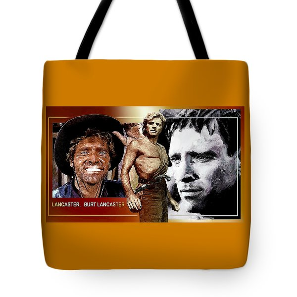 Tote Bag featuring the digital art Burt by Hartmut Jager