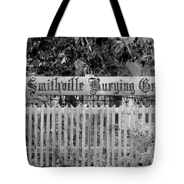 Burying Ground Tote Bag by Cynthia Guinn