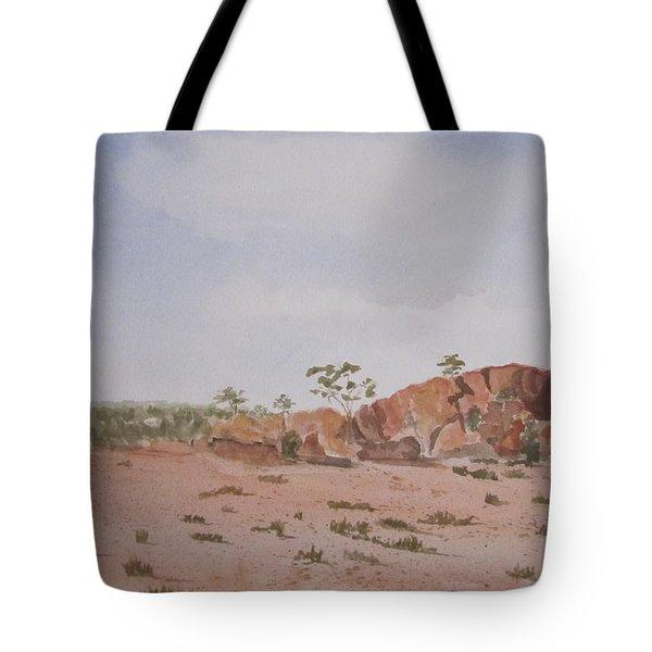 Bush Land Australia Tote Bag