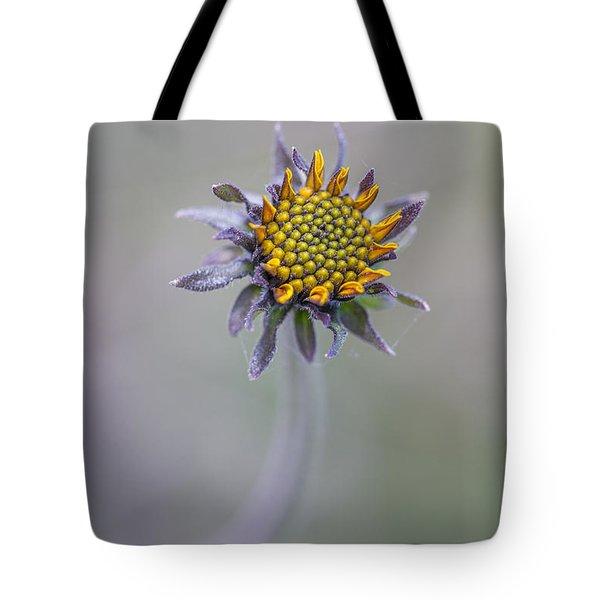 Bush Sunflower Opening Tote Bag