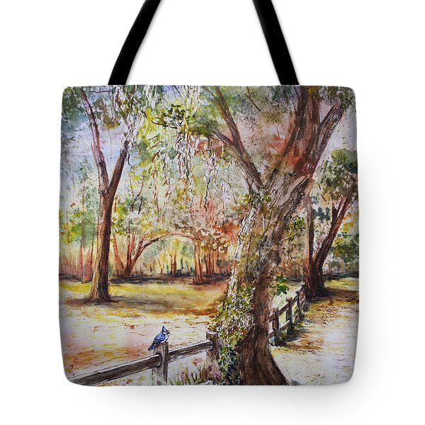 Bushnell Morning Tote Bag