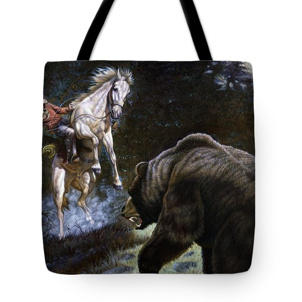 Bushwacked Tote Bag