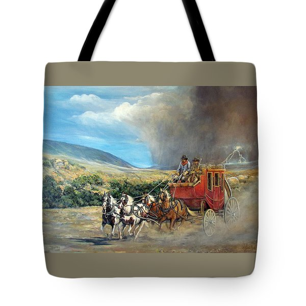 Business As Usual Tote Bag by Donna Tucker