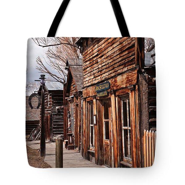 Business Block Tote Bag