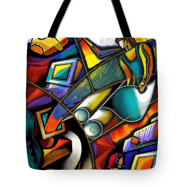 Business World Tote Bag