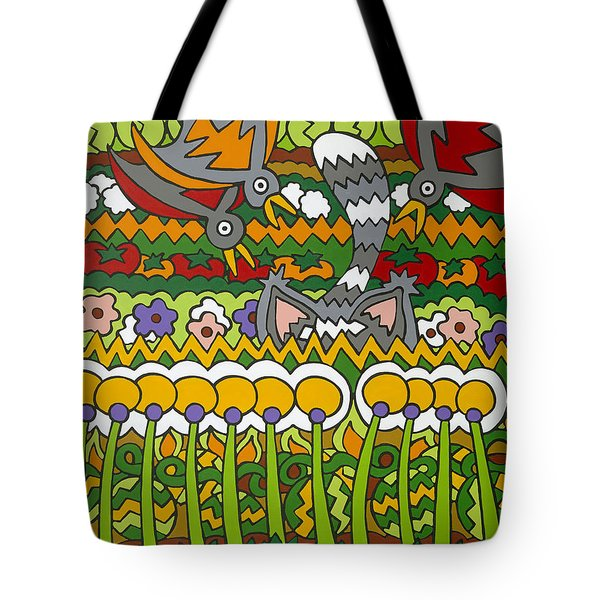 Busted Tote Bag by Rojax Art