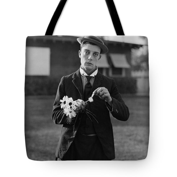 Buster Keaton Portrait Tote Bag