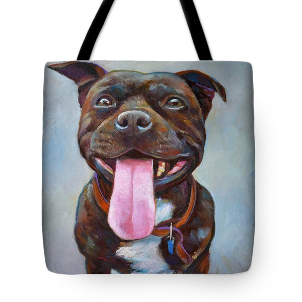 Buster  Tote Bag by Robert Phelps