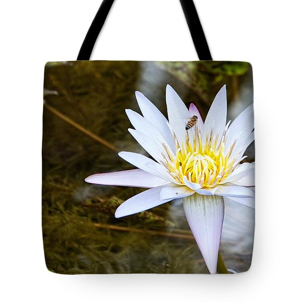 Busy Bee Tote Bag by Dave Files