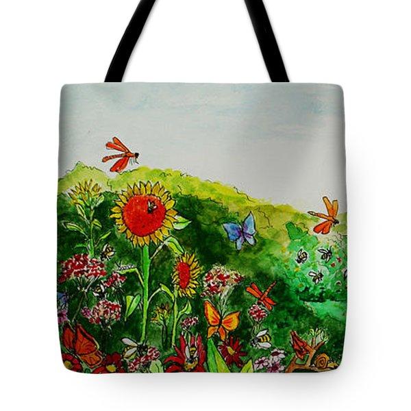 Busy Bee Garden Tote Bag
