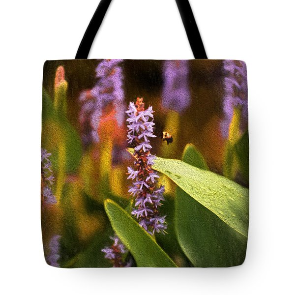 Busy Bee Tote Bag by Richard Rizzo