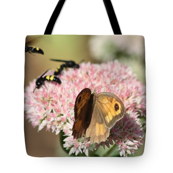 Busy Days Tote Bag