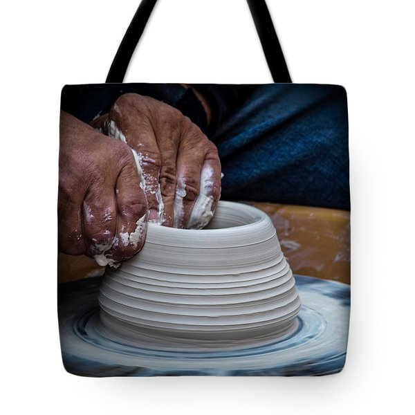 Busy Hands Tote Bag