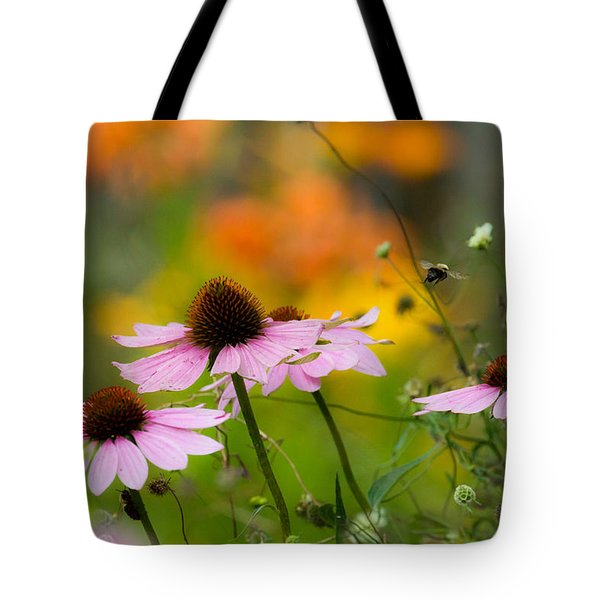 Tote Bag featuring the photograph Busy Morning by Mary Amerman