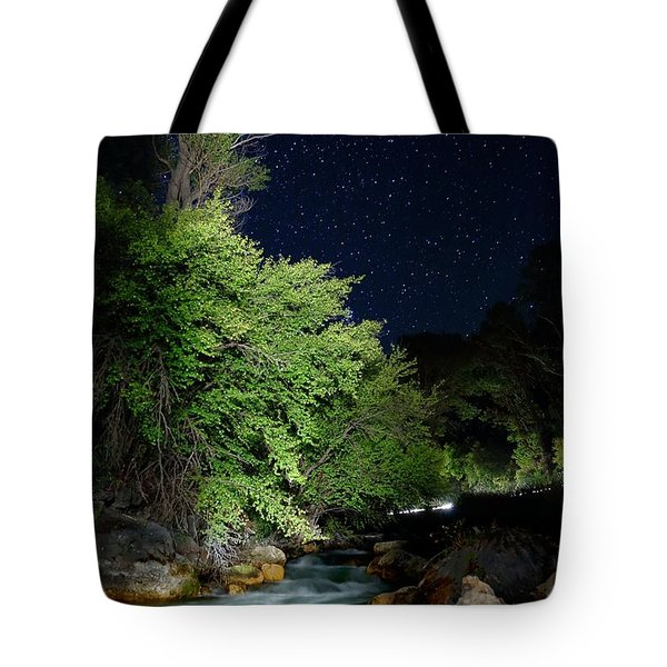 Tote Bag featuring the photograph Busy Night by David Andersen