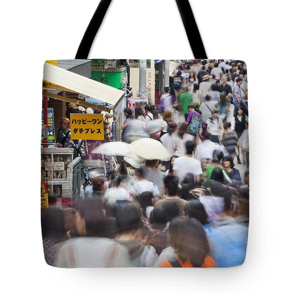 Busy Takeshita Dori Tote Bag