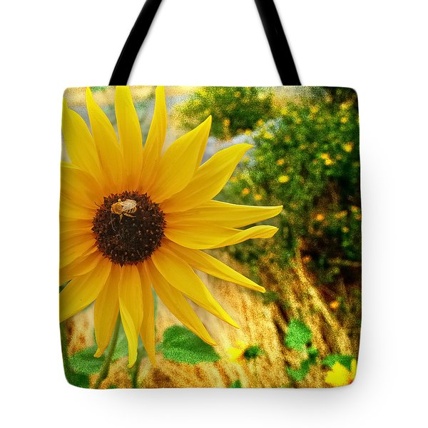 Busy Visitor Tote Bag