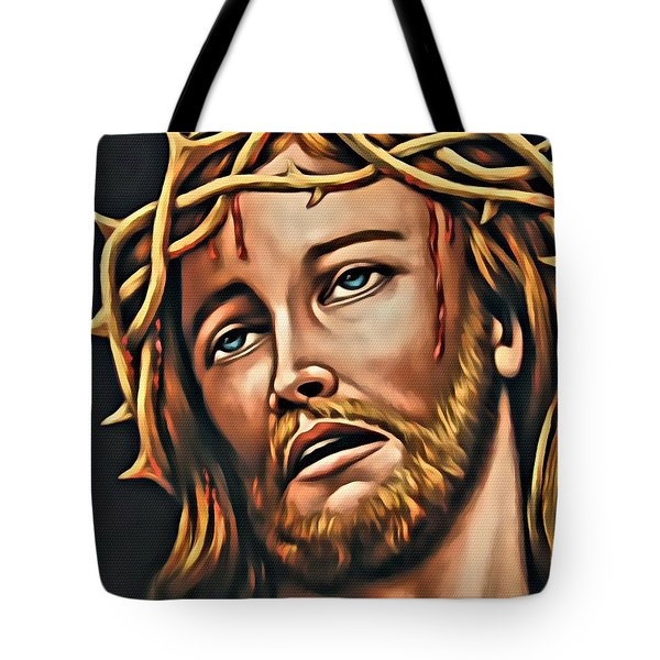 But For Grace Tote Bag by Karen Showell