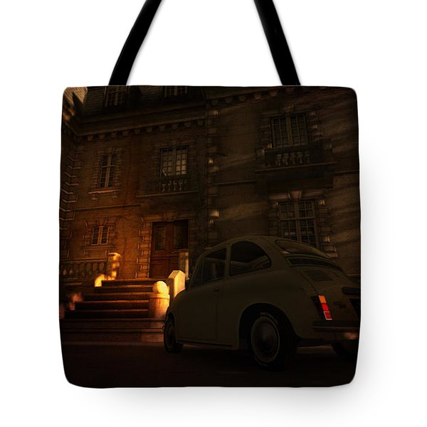 But You Can Never Leave Tote Bag