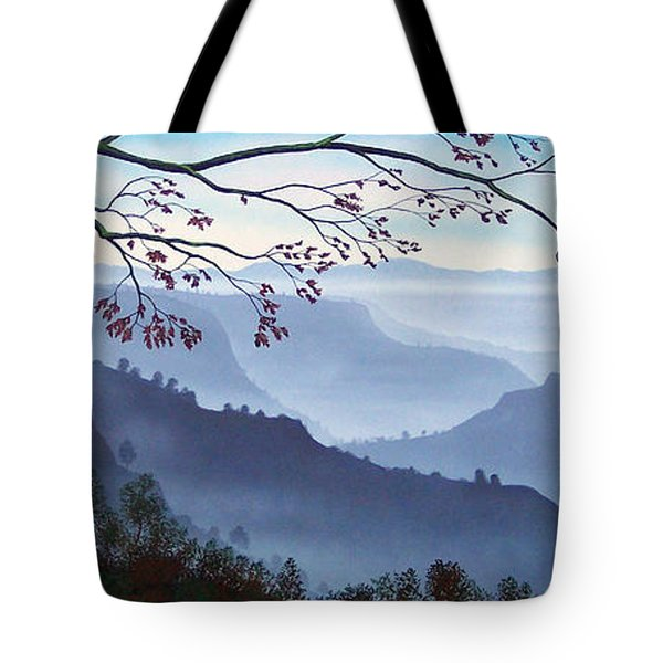 Butte Creek Canyon Mural Tote Bag