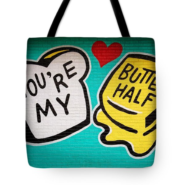 Butter Half Tote Bag