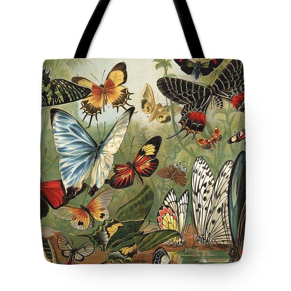 Butterflies 2 Tote Bag by Mutzel