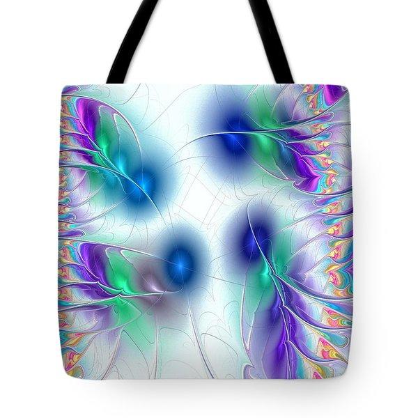 Butterflies Tote Bag by Anastasiya Malakhova