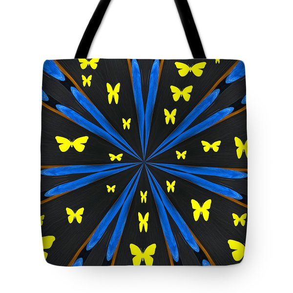 Butterflies Galore Tote Bag by Karol Livote
