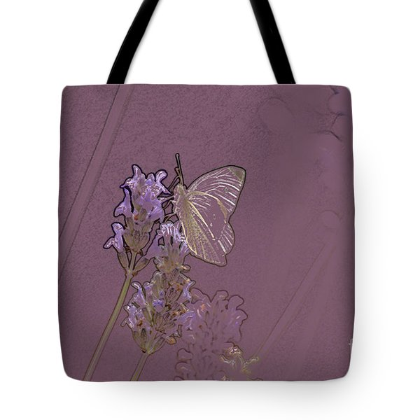 Butterfly 2 Tote Bag by Carol Lynch