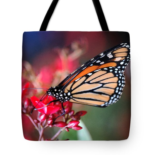 Tote Bag featuring the photograph Butterfly 2 by Leticia Latocki