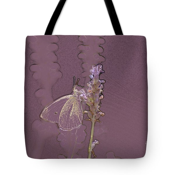 Butterfly 3 Tote Bag by Carol Lynch