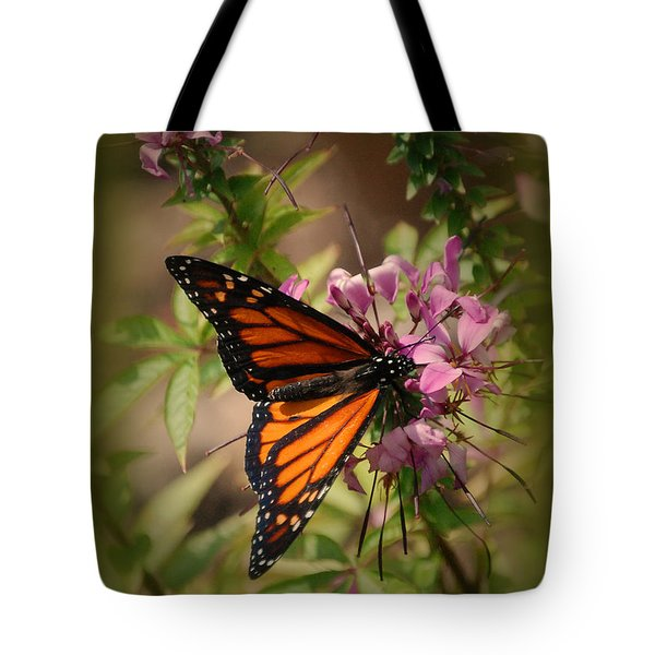 Tote Bag featuring the photograph Butterfly 5 by Leticia Latocki