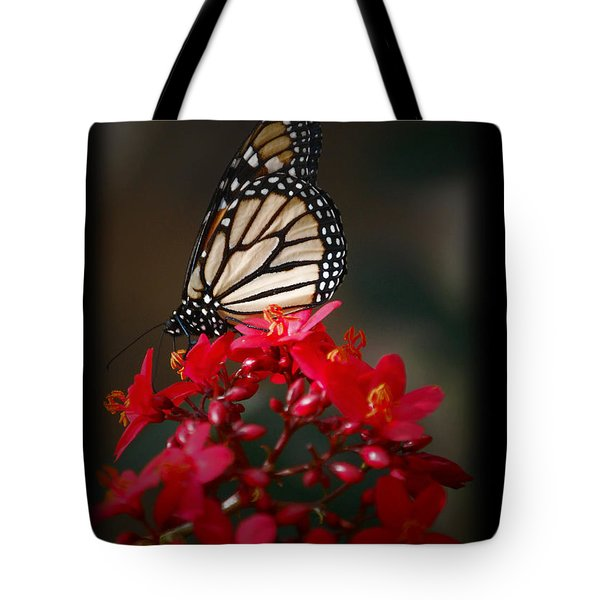 Tote Bag featuring the photograph Butterfly 6 by Leticia Latocki