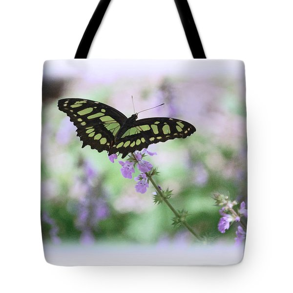 Tote Bag featuring the photograph Butterfly 8 by Leticia Latocki