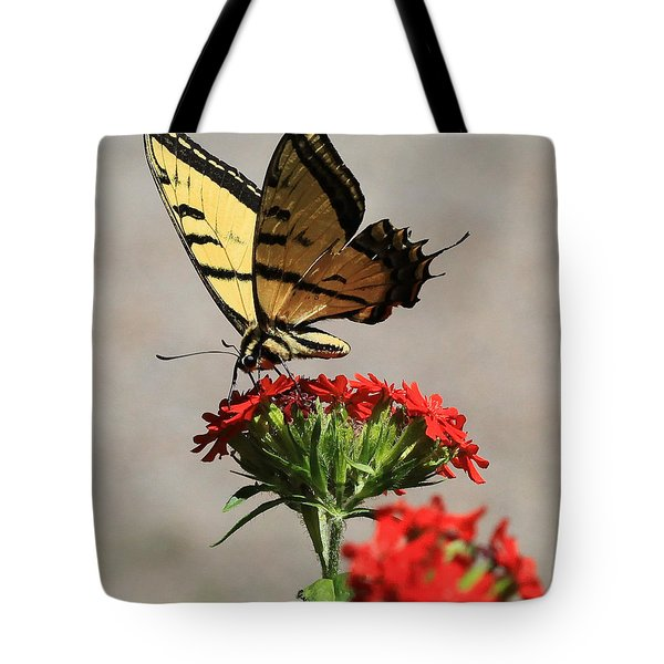 Butterfly And Maltese Cross 1 Tote Bag