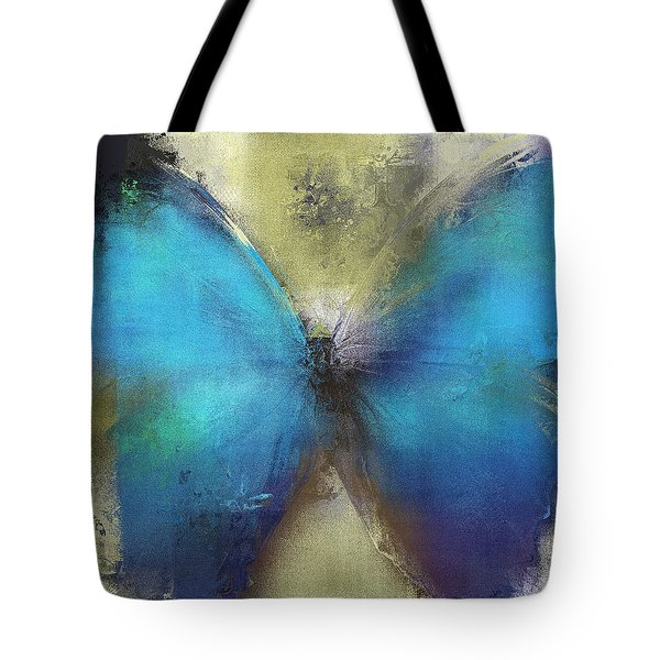 Butterfly Art - Ab0101a Tote Bag by Variance Collections