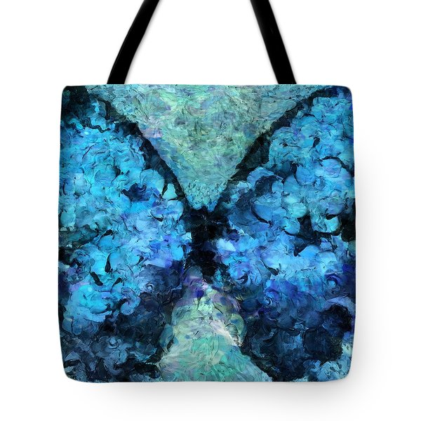 Butterfly Art - D11bl02t1c Tote Bag by Variance Collections