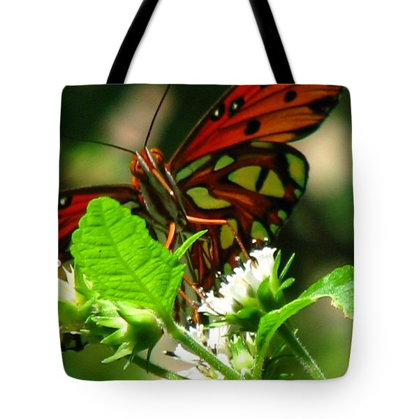 Butterfly Art Tote Bag by Greg Patzer