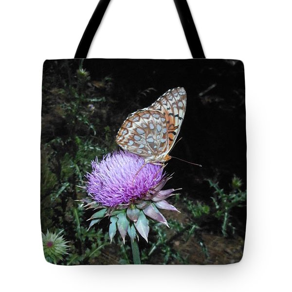 Butterfly At Peace Tote Bag