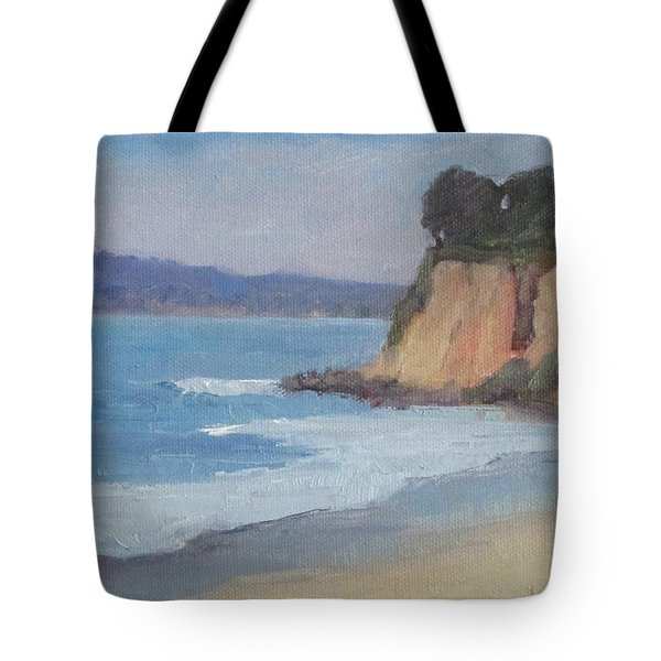 Tote Bag featuring the painting Butterfly Beach Afternoon Series 4 by Jennifer Boswell