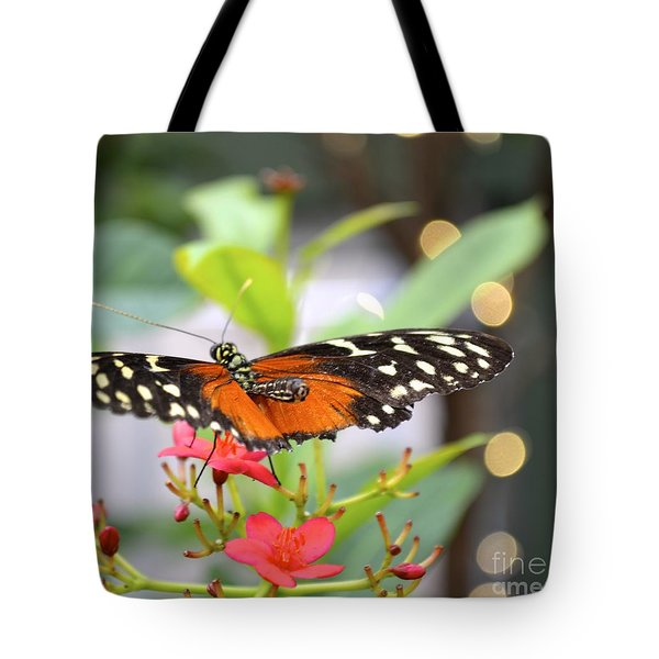 Tote Bag featuring the photograph Butterfly Beauty by Carla Carson