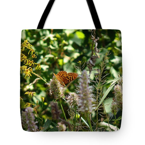 Tote Bag featuring the photograph Butterfly Buffet by Meghan at FireBonnet Art