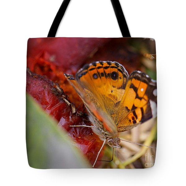 Tote Bag featuring the photograph Butterfly by Erika Weber