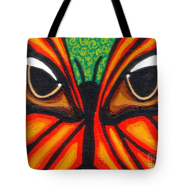 Butterfly Eyes Tote Bag by Genevieve Esson