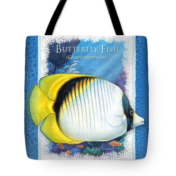 Butterfly Fish Tote Bag