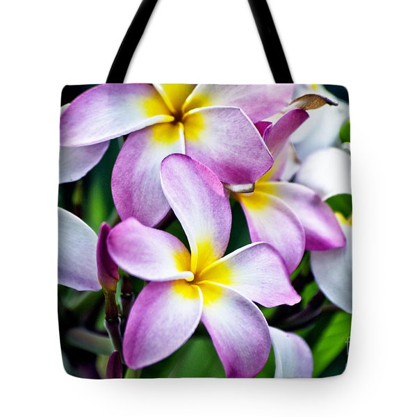 Tote Bag featuring the photograph Butterfly Flowers by Thomas Woolworth